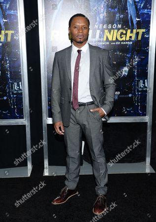 """Malcolm Goodwin attends the world premiere of """"Run All Night"""" at AMC Loews Lincoln Square, in New York"""