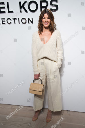 Hanneli Mustaparta attends the Michael Kors 2016 show during Fashion Week on in New York