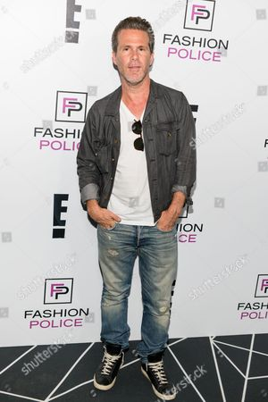 Stock Picture of Scott Lipps arrives at the NYFW Spring/Summer 2016 - E! Party at The Standard Highline Biergarten on Wednesday Sept. 9th, 2015, in New York