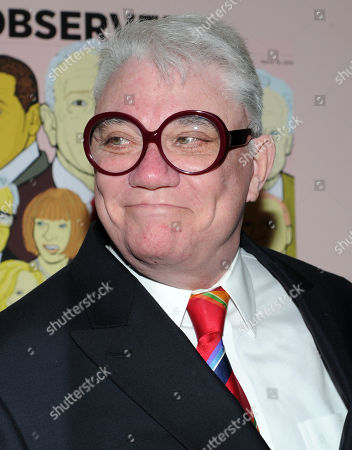 Stock Image of Film critic Rex Reed attends The New York Observer's 25th anniversary party at The Four Seasons Restaurant on in New York