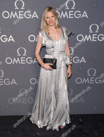 Writer Jasmine Lobe attends the Omega Speedmaster Dark Side of the Moon launch event, in New York