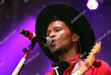 Roman GianArthur performs during ONE Musicfest 2015 at Aaron's Amphitheatre at Lakewood, in Atlanta