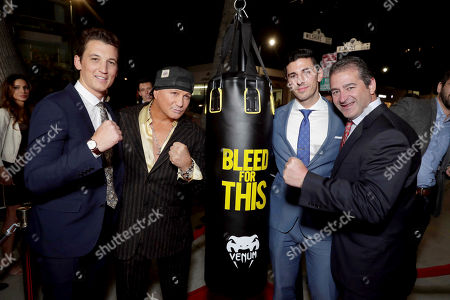 """Editorial picture of Open Road Films """"Bleed for This"""" Los Angeles Premiere, Beverly Hills, USA - 2 Nov 2016"""