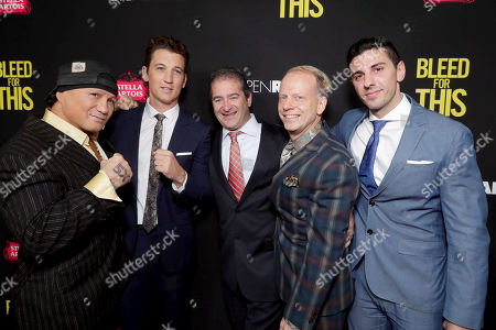 """Editorial image of Open Road Films """"Bleed for This"""" Los Angeles Premiere, Beverly Hills, USA - 2 Nov 2016"""