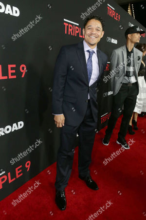 Ian Casselberry seen at Open Road's 'Triple 9' Los Angeles Premiere at Regal L.A. Live, in Los Angeles, CA