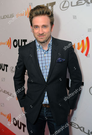 Actor Tom Lenk arrives at OUT Magazine's 20th Anniversary Party presented by Lexus at Station at W Hotel on in Los Angeles