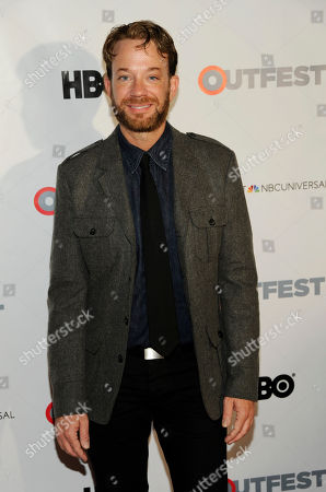 Actor Sam Pancake poses at the Outfest 2014 Fusion LGBT People of Color Film Festival, in Los Angeles