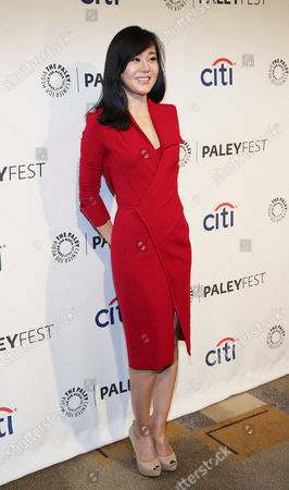 """Yunjin Kim arrives at PALEYFEST 2014 - """"Lost"""" 10th Anniversary Reunion on in Los Angeles, Calif"""