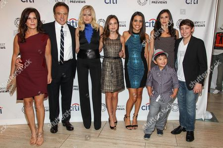 """Editorial image of PaleyFest Previews Fall TV - """"Trophy Wife"""", Los Angeles, USA - 10 Sep 2013"""