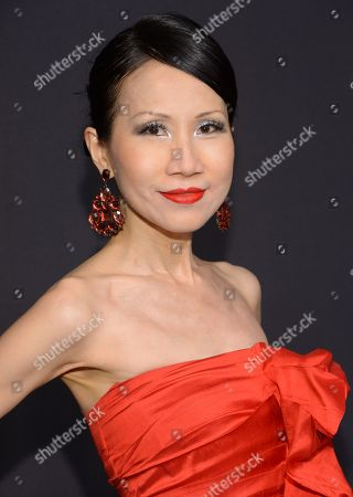 Chiu-Ti Jansen attends the Panthere de Cartier Collection dinner & party at Skylight Clarkson Studios, in New York