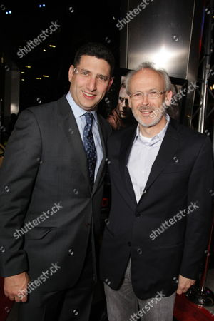 NOVEMBER 09: Paramount Vantage's Nick Meyer and Producer Pieter Jan Brugge at Paramount Vantage Premiere of 'Defiance' at the 2008 AFI Fest Closing Night Gala on at the Cinerama Dome in Hollywood, CA