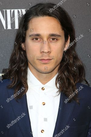 """Stock Picture of Peter Gadiot arrives at the Party for the Film """"Tut"""" at Chateau Marmont, in West Hollywood, Calif"""
