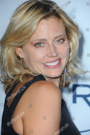 Stock Picture of Estella Warren arrives at Pathway to the Cure Benefit at Santa Monica Airport, in Santa Monica, CA