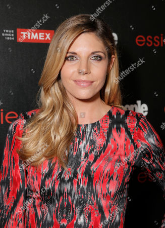 """Stock Photo of Andrea Bogart arrives at the PEOPLE """"Ones to Watch"""" Party at The Line Hotel, in Los Angeles"""