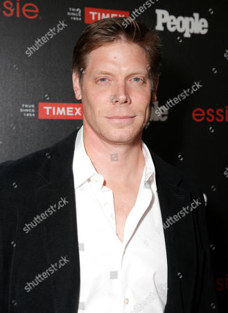 "Brian Letscher arrives at the PEOPLE ""Ones to Watch"" Party at The Line Hotel, in Los Angeles"
