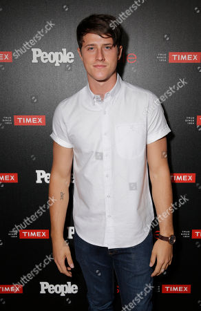 """Shane Harper arrives at the PEOPLE """"Ones to Watch"""" Party at The Line Hotel, in Los Angeles"""