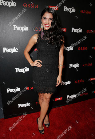 """Nazneen Contractor arrives at the PEOPLE """"Ones to Watch"""" Party at The Line Hotel, in Los Angeles"""