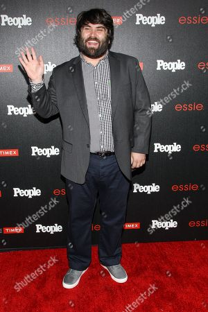 """John Gemberling attends the PEOPLE """"Ones to Watch"""" Party at The Line Hotel, in Los Angeles"""