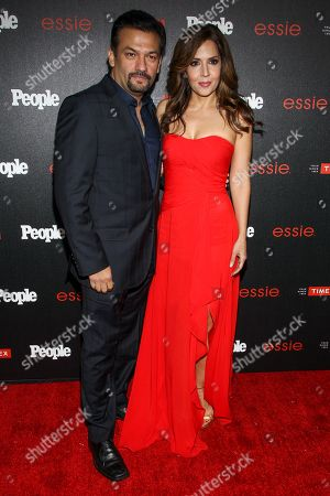 "David Barrera and Maria Canals Barrera attend the PEOPLE ""Ones to Watch"" Party at The Line Hotel, in Los Angeles"