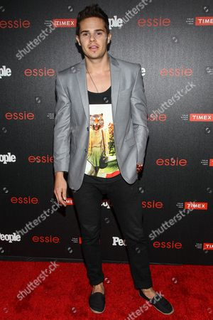 """Justin James Hughes attends the PEOPLE """"Ones to Watch"""" Party at The Line Hotel, in Los Angeles"""