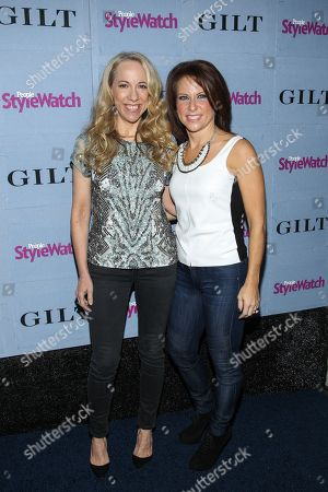 From left, People StyleWatch Editor Susan Kaufman, and Publisher Stephanie Sladkus arrive at the 2013 People StyleWatch Denim Party at the Palihouse on in Los Angeles