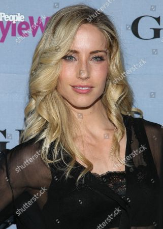 Trainer Astrid Swan McGuire arrives at the 2013 People StyleWatch Denim Party at the Palihouse on in Los Angeles