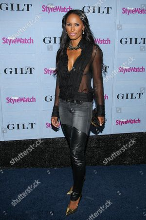 Stock Image of Actress Toni Duclottni arrives at the 2013 People StyleWatch Denim Party at the Palihouse on in Los Angeles
