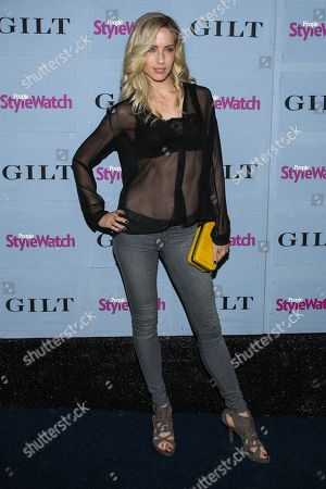 Stock Photo of Trainer Astrid Swan McGuire arrives at the 2013 People StyleWatch Denim Party at the Palihouse on in Los Angeles