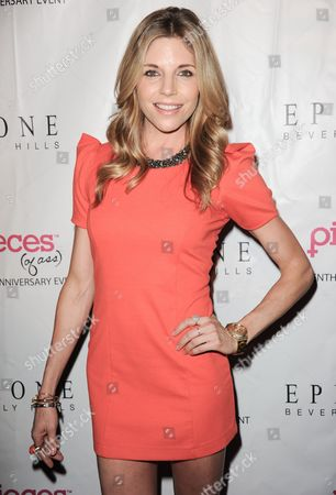 """Andrea Bogart arrives at the """"Pieces (of ass)"""" 10th Anniversary celebration at the Fonda Theatre on in Los Angeles"""