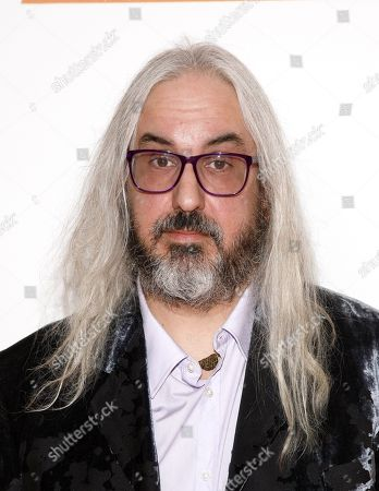 "Musician J. Mascis attends the premiere of ""Portlandia"" season three, at the American Museum of Natural History on in New York"