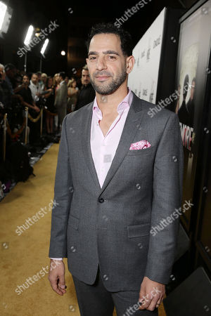 Patrick Sabongui seen at Los Angeles Premiere for Crackle's 'The Art of More' at Sony Pictures, in Los Angeles, CA