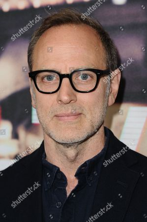 "Stock Image of Producer Tom Broecker arrives at theLos Angeles Premiere Of ""Live from New York!"" held at The Landmark Theatre, in Los Angeles"