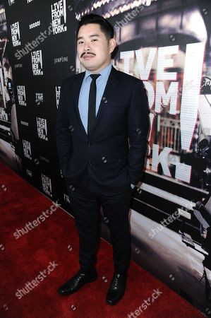 "Stock Picture of Director Bao Nguyen arrives at theLos Angeles Premiere Of ""Live from New York!"" held at The Landmark Theatre, in Los Angeles"
