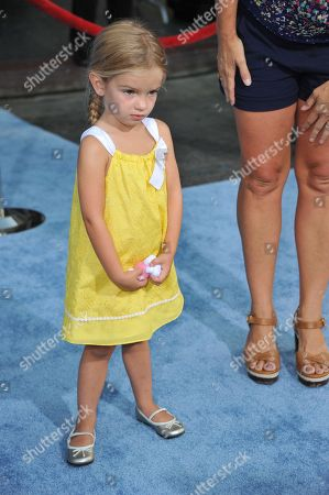 "Mia Talerico attends the premiere of ""Finding Nemo"" 3D at the El Capitan Theatre, in Los Angeles"