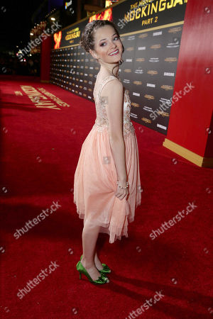 Stock Photo of Erika Bierman seen at Los Angeles Premiere of Lionsgate's 'The Hunger Games: Mockingjay - Part 2', in Los Angeles, CA