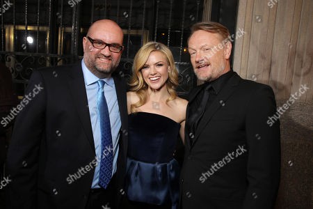 Director John Pogue, Erin Richards and Jared Harris seen at the Los Angeles Premiere of Lionsgate's 'The Quiet Ones', in Los Angeles