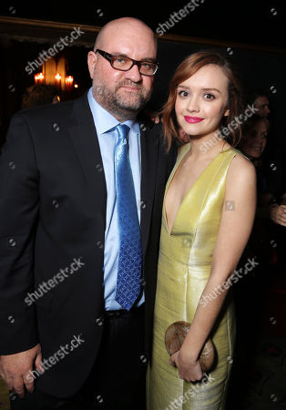 Director John Pogue and Olivia Cooke seen at the Los Angeles Premiere of Lionsgate's 'The Quiet Ones', in Los Angeles