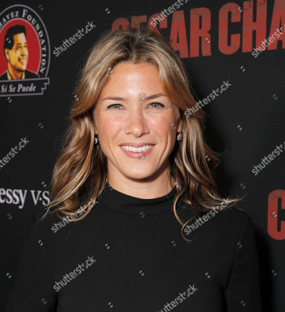 """Jessica Lindsey attends the Los Angeles premiere of Pantelion Films and Participant Mediaâ?™s """"Cesar Chavez"""" at the at the Chinese Theatre, in Los Angeles"""