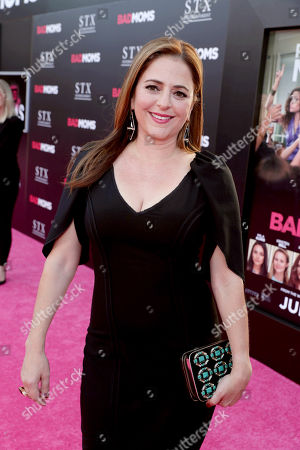 "Annie Mumolo seen at Los Angeles Premiere of STX Entertainment ""Bad Moms"" at Mann Village Theatre, in Los Angeles"