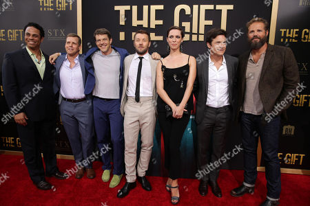 """Editorial image of Premiere of STX Entertainment """"The Gift"""", Los Angeles, USA - 30 Jul 2015"""