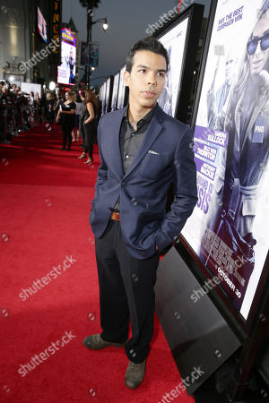 Octavio Gomez Berrios seen at Los Angeles Premiere of Warner Bros. 'Our Brand is Crisis' at TCL Chinese Theatre, in Los Angeles, CA