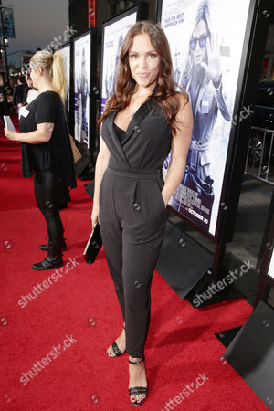 Agnes Bruckner seen at Los Angeles Premiere of Warner Bros. 'Our Brand is Crisis' at TCL Chinese Theatre, in Los Angeles, CA