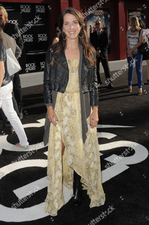 """Martha Quinn arrives at the """"Rock of Ages"""" premiere at Grauman's Chinese Theatre on in Los Angeles"""