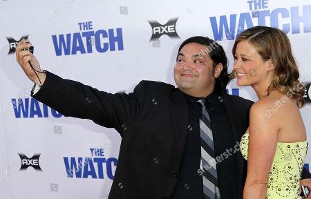 Editorial photo of Premiere The Watch LA, Los Angeles, USA - 23 Jul 2012
