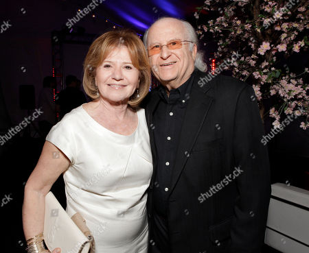 "Producers Letty Aronson and Stephen Tenenbaum attend the after party for the premiere of ""To Rome With Love"" at Regal Cinemas L.A. LIVE on in Los Angeles"