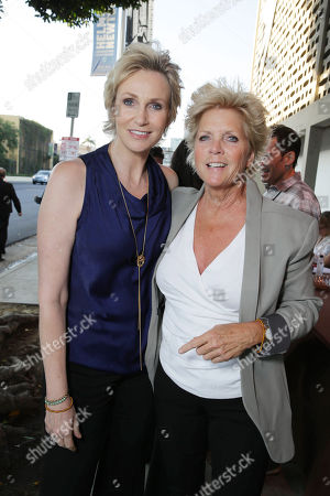 Stock Photo of Honoree Jane Lynch and Meredith Baxter seen at Project Angel Food Awards, on Saturday, August, 10, 2013 in Los Angeles