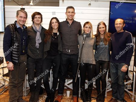 Fabien Cousteau, Jonathan Ollinger, Chevenne Reavis, Mike Farah, Lauren Paul, Molly Thompson, Peter Glatzer participated in a panel at Quaker Good Energy Lodge with GenArt and the Collective during Sundance 2014 on Saturday, January, 18, 2014 in Park City, Ut