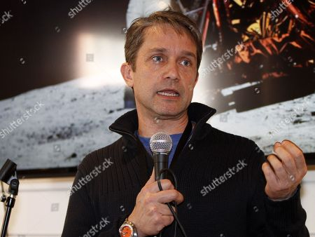IMAGE DISTRIBUTED FOR COLLECTIVE CABIN - Fabien Cousteau, grandson of famed explorer Jacques Cousteau, gave a talk at Quaker Good Energy Lodge with GenArt and the Collective during Sundance 2014 on Friday, January, 17, 2014 in Park City, Ut