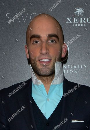 Magician Drummond Money-Coutts is seen arriving at the Quintessentially Foundation's annual poker evening in association with Betfair at the Savoy Hotel on in London. The Quintessentially Foundation is the charitable arm of Quintessentially Lifestyle