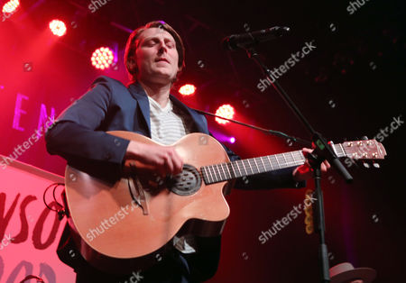 Stock Image of Eric Hutchinson performs as the opener for Rachel Platten at Center Stage Theater, in Atlanta